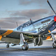 Betty Jane P51d Mustang At Livermore Art Print