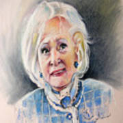 Betty White In Boston Legal Art Print