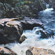 Betws-y-coed Waterfall Art Print