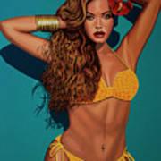 Beyonce 2 Art Print