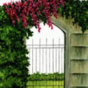 Beyond The Gates Art Print