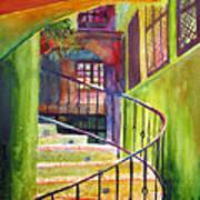 Beyond The Steps Art Print