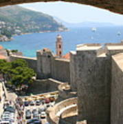 Beyond The Walls Of Old Dubrovnik Art Print