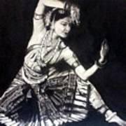 Bharatnatyam Art Print