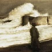 Biarritz 1909 Art Print