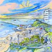 Biarritz 26 Art Print