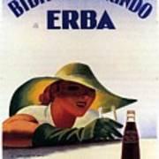Bibita Tamarindo - Erba - Vintage Drink Advertising Poster Art Print