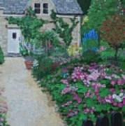 Bibury Garden Path Art Print