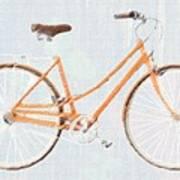 Bicycle Blues Art Print