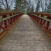 Bicycle Bridge - Niagara On The Lake Art Print