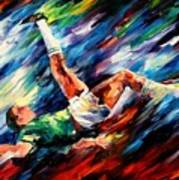 Bicycle Kick Art Print