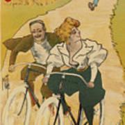 Bicycle Poster, 1895 Art Print