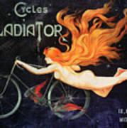 Bicycle Poster, C1905 Art Print