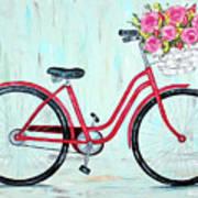 Bicycle Spring Break Art Print
