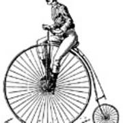 Bicycling, C1890 Art Print by Granger