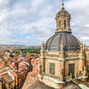 Bierdview Of Historic City Of Salamanca Art Print