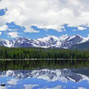 Bierstadt Lake Panorama Art Print
