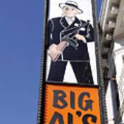 Big Al Print by Denise Pohl