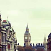 Big Ben As Seen From Trafalgar Square, London Art Print by Image - Natasha Maiolo