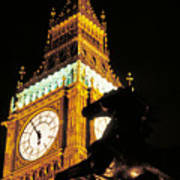 Big Ben In London Art Print