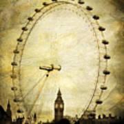 Big Ben In The London Eye Art Print