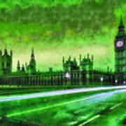 Big Ben London - Da Art Print