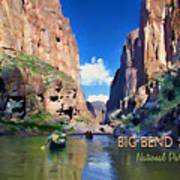 Big Bend Texas National Park Mariscal Canyon Art Print