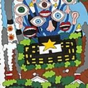 Big Brother Art Print by Rojax Art