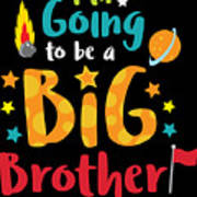 Big Brother Space Theme Light Promotion Art Print