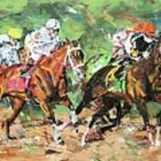 Big Brown Derby Art Print