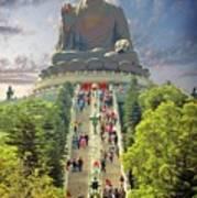 Big Buddha Art Print