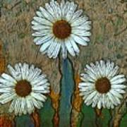 Big Flowers Art Print
