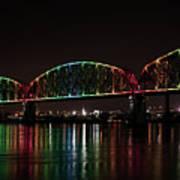 Big Four Bridge 2215 Art Print