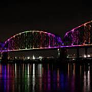 Big Four Bridge 2219 Art Print