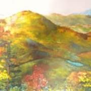 Big Hill Vista Art Print