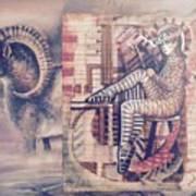 Big Horn Dancer Art Print
