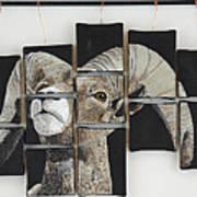 Big Horn Fragments Art Print