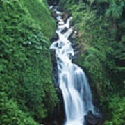 Big Island Watefall Art Print