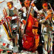 Big Jazz Art Print