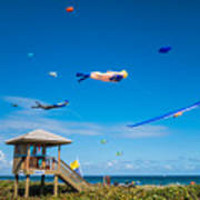 Big Kites Delray Beach Art Print