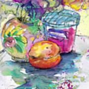 Big Marmalade Art Print
