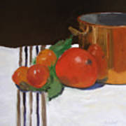 Big Red Tomato Art Print