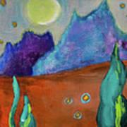 Big Rock Candy Mountain Art Print