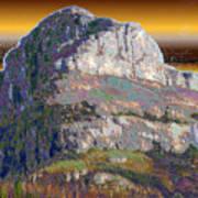 Big Rock Art Print