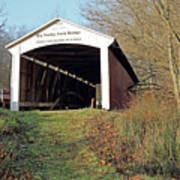 Big Rocky Fork Bridge Indiana Art Print