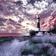 Big Sable Lighthouse 2 Art Print