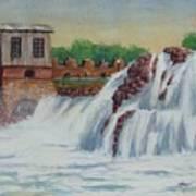 Big Sioux Falls Art Print