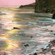 Big Sir Sunset Art Print