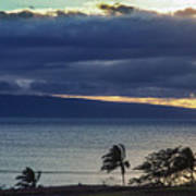 Over Molokai Art Print