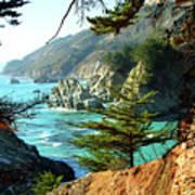 Big Sur Vista Print by Charlene Mitchell